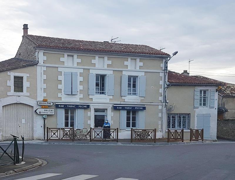 bar restaurant tabac Vindelle Charente