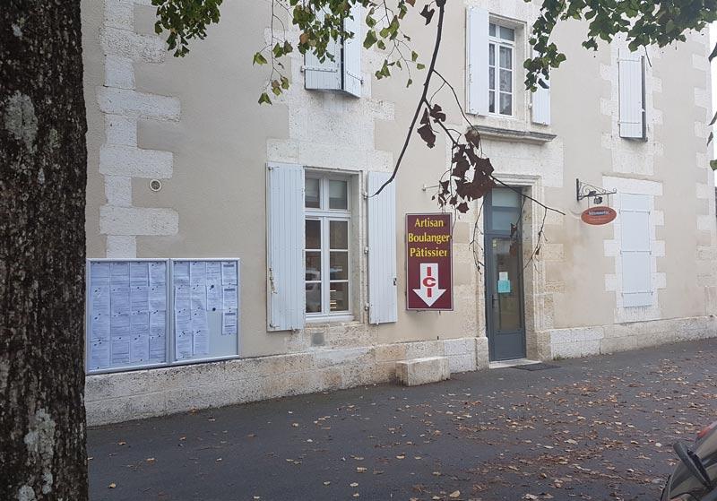 boulangerie patisserie Vindelle Charente