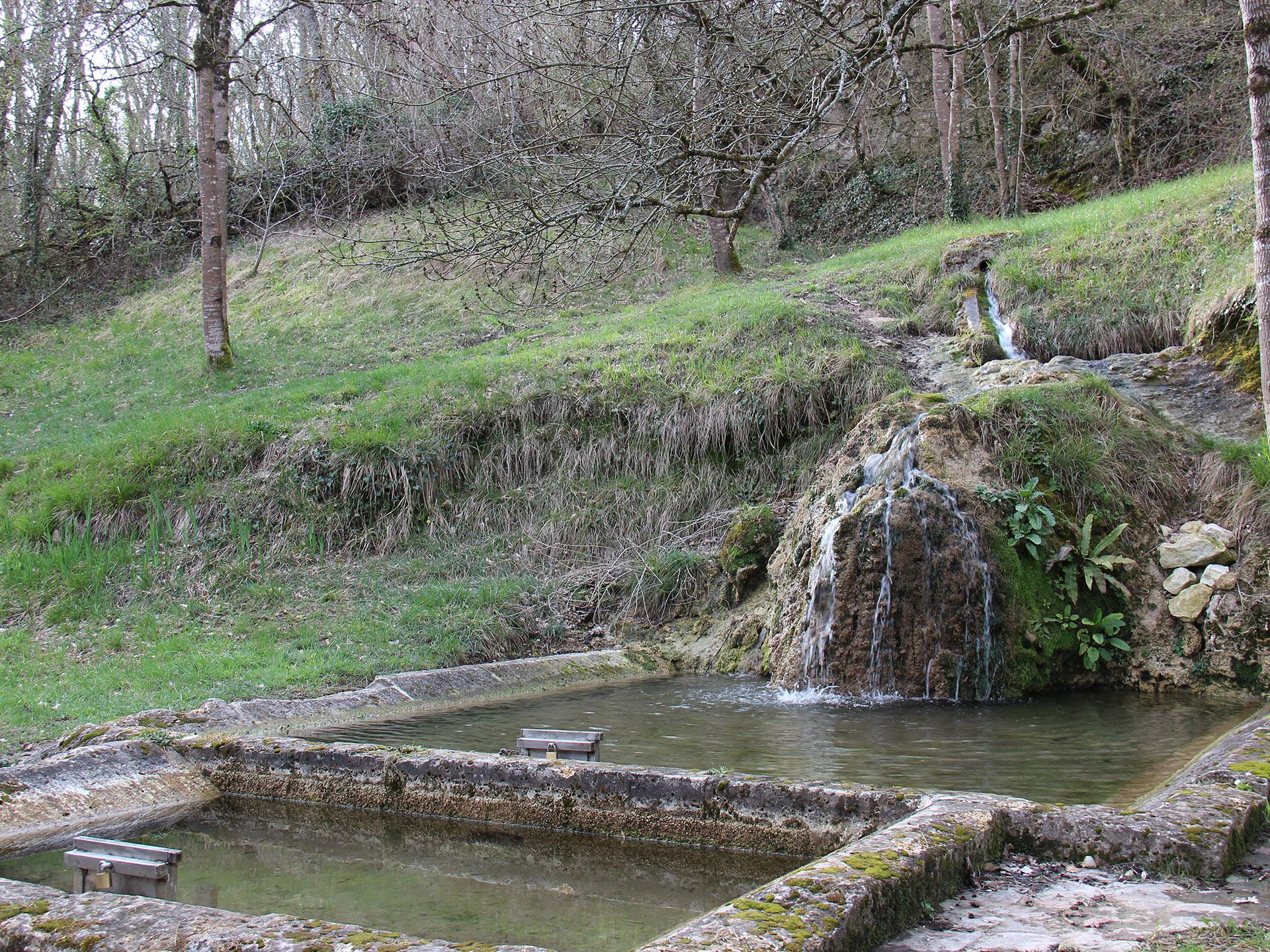 fontaine de tonne Vindelle